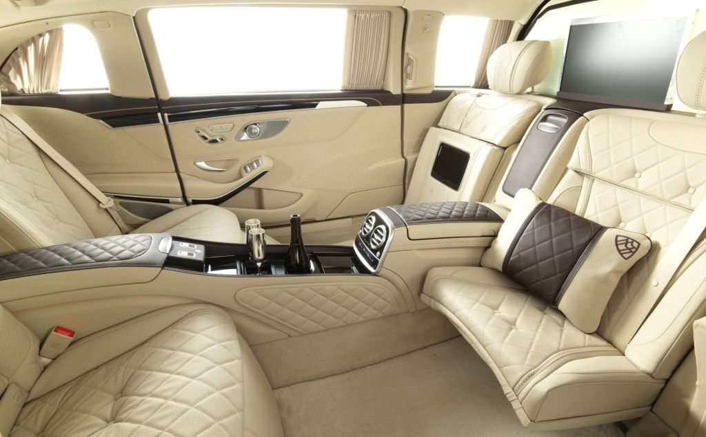 2016 mercedes maybach s600 pullman interior design cars for Mercedes benz maybach interior