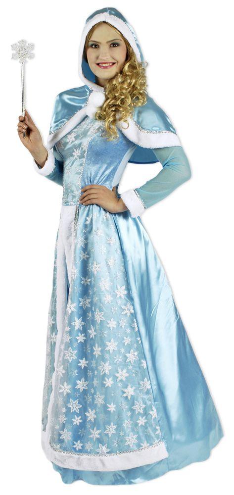 Der Winter ist eiskalt, glatt und hässlich? Das möchte unsere Winterkönigin gar nicht hören! In diesem wunderschönen Traum aus hellblauen Stoff mit weißen Glitzer Schneeflocken würden sich Anna und Elsa pudelwohl fühlen!