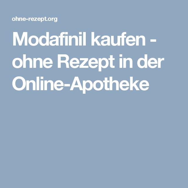 Modafinil kaufen - ohne Rezept in der Online-Apotheke