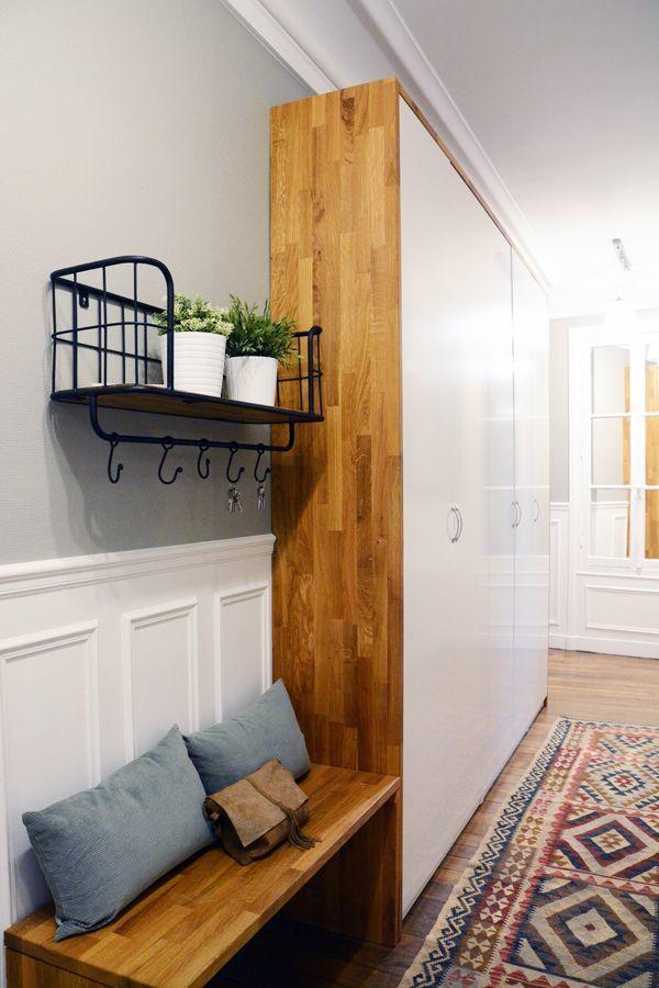 Deco Les Couloirs Qui Font Partie Du Decor Deco Entree Maison Meuble Couloir Et Meuble Entree Ikea