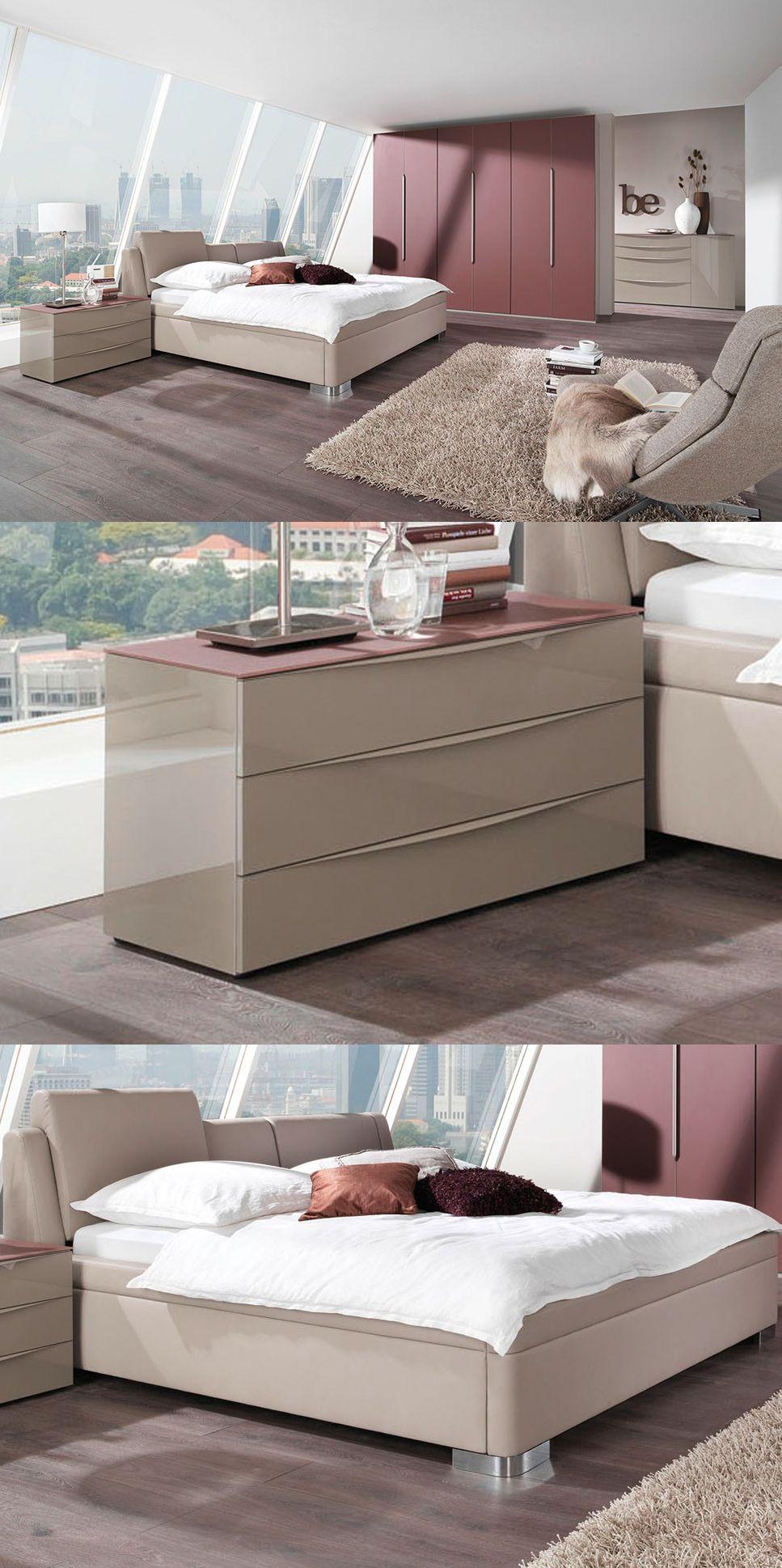 Master Bedroom & Mood von Wellemöbel - Schlafzimmer trüffel | Modern ...