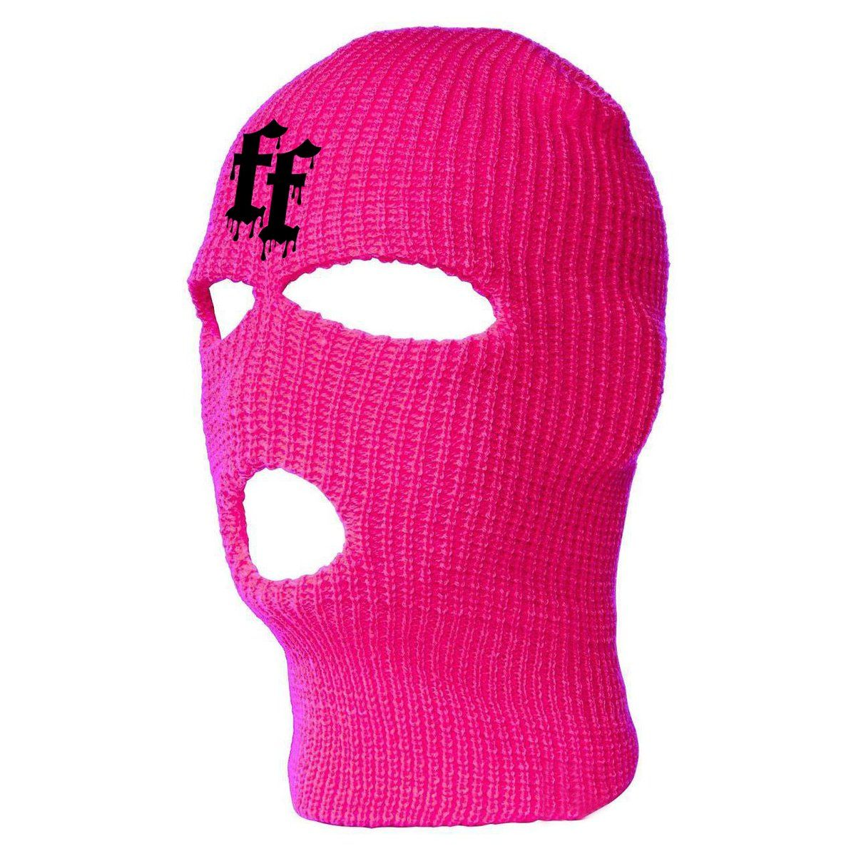 Pin By Kayla Chieco On Boo In 2020 Ski Mask Hot Pink Face Mask