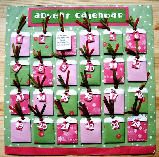 Easy Peasy Tag Pocket \u2013 Make an Advent Calendar Christmas