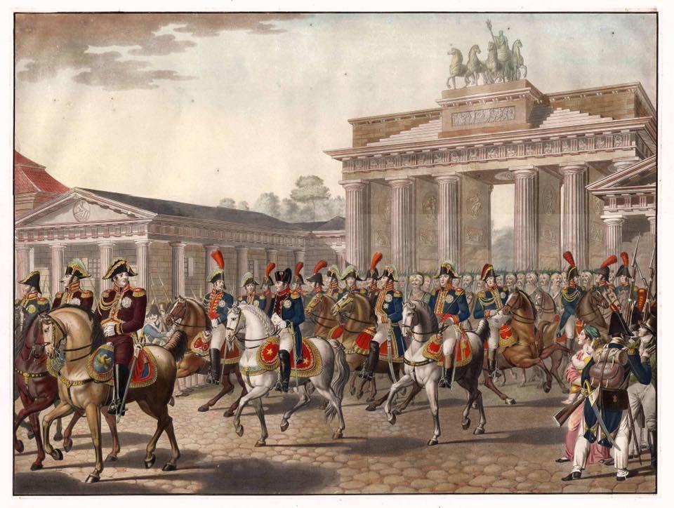Napoleon Bonaparte Durchschreitet Das Brandenburger Tor Am 27 Oktober 1806 Painting Scenes Art