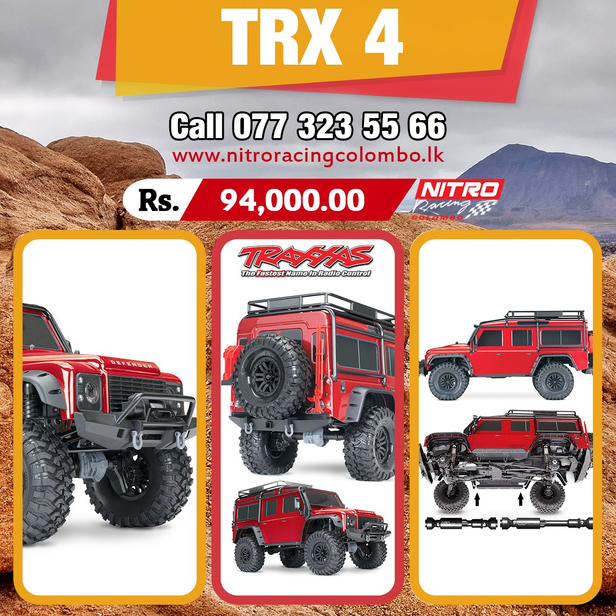Traxxas Trx 4 Hd Image Defender Limited Edition Price In Sri Lanka