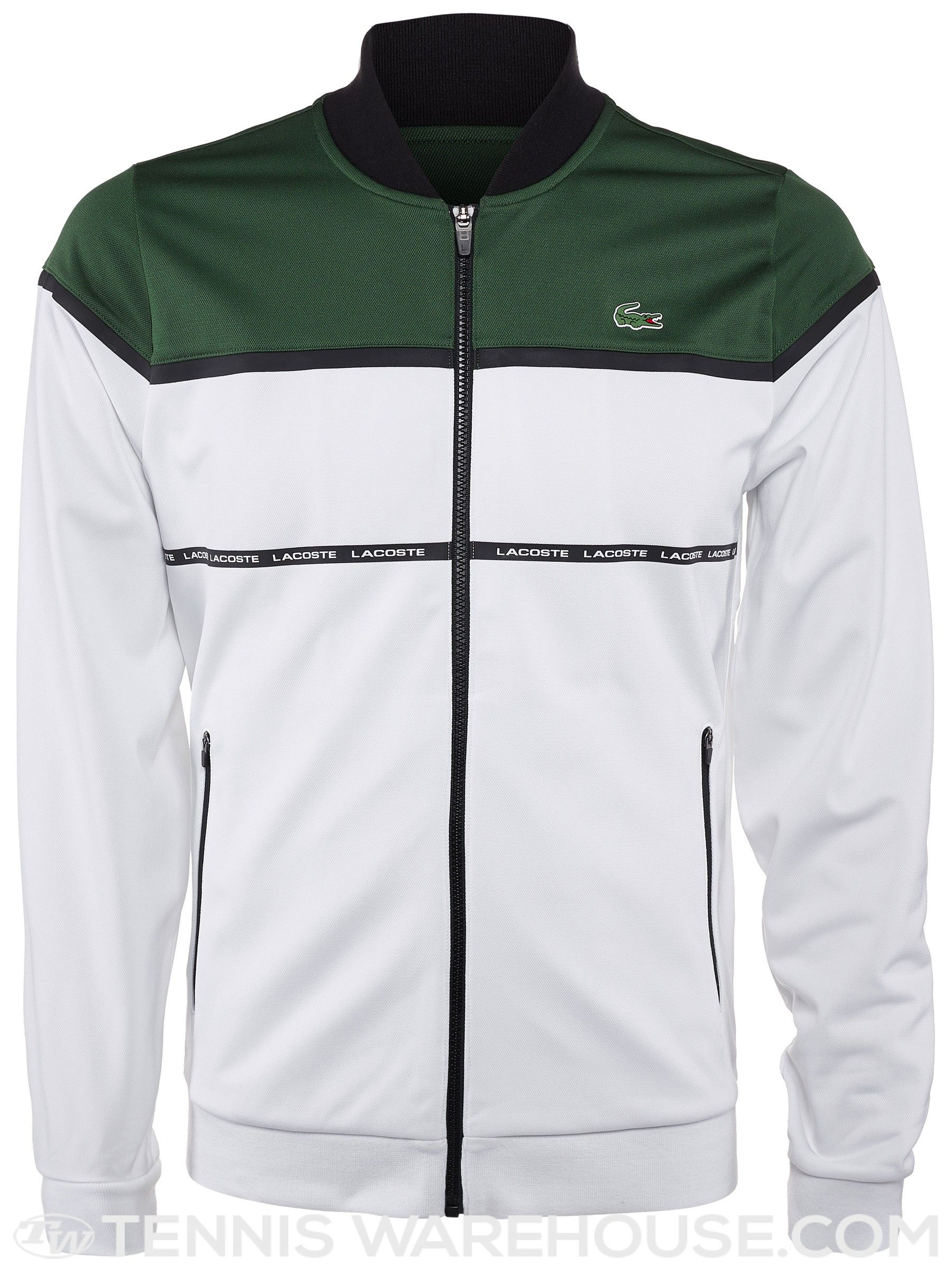 a767487d0e Lacoste Men's Fall Taped Jacket | Men's Tennis Wear | Fashion ...