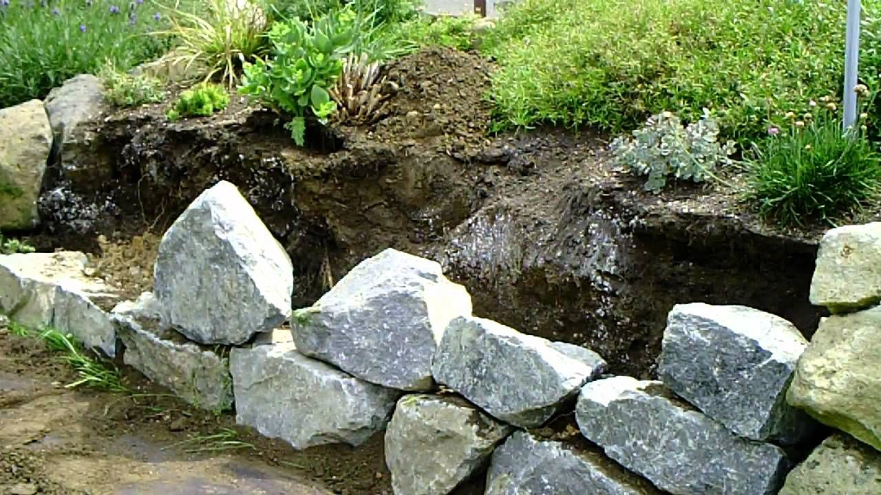 17 best ideas about trockenmauer bauen on pinterest | ruinenmauer, Garten Ideen