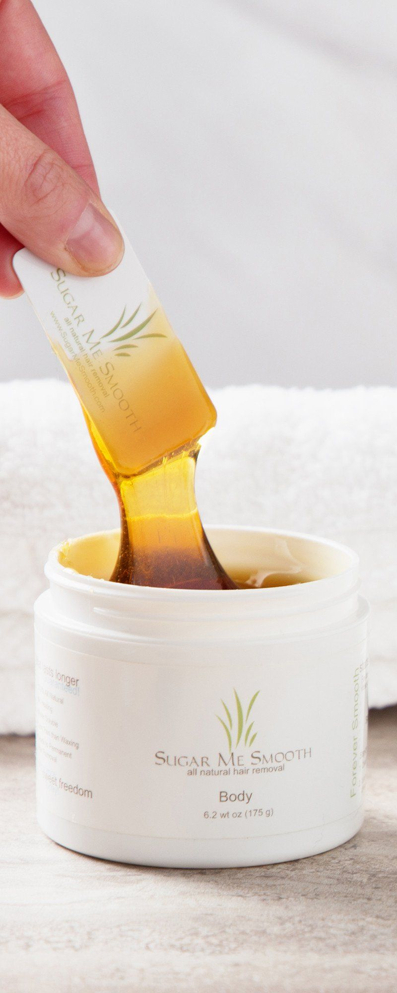 This allnatural recipe gently leaves skin hairfree