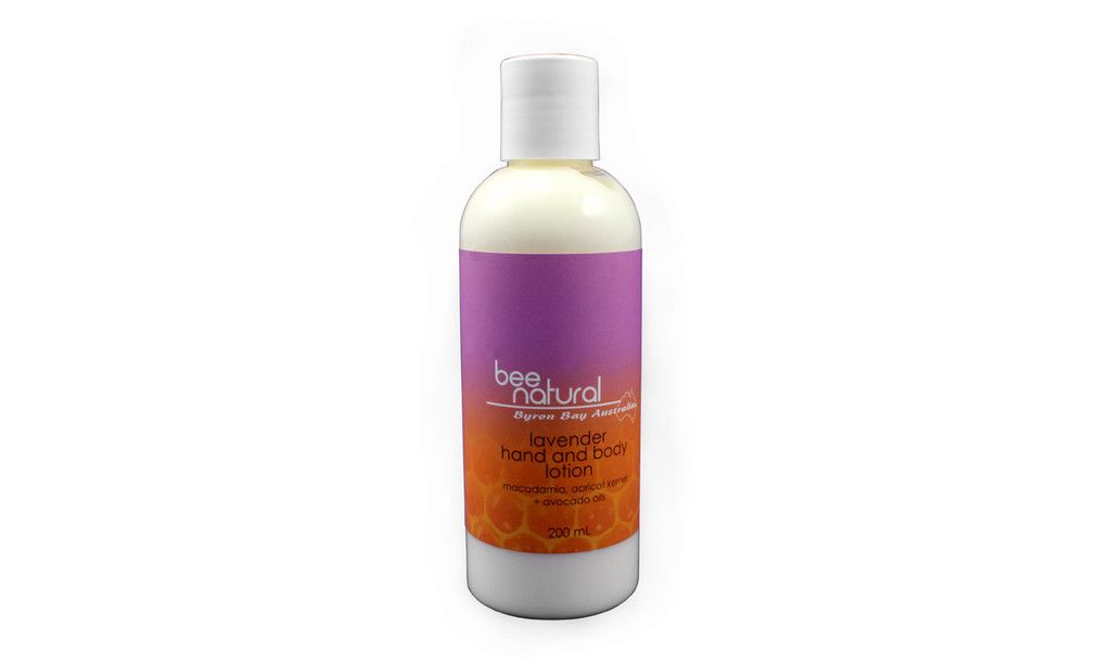 Bee Natural Hand & Body Lotion Lavender 200ml