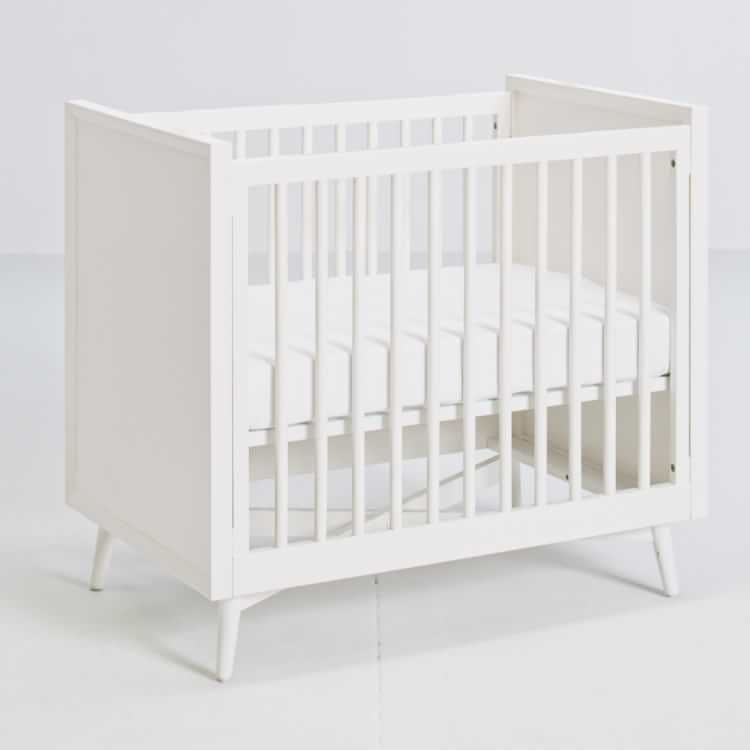 Mid Century Mini Crib Mattress Set White West Elm Mattress Sets Mini Crib Crib Mattress
