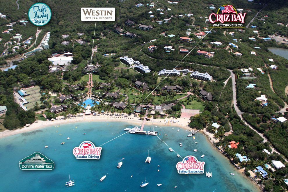 Great cruz bay westin resort st john virgin islands