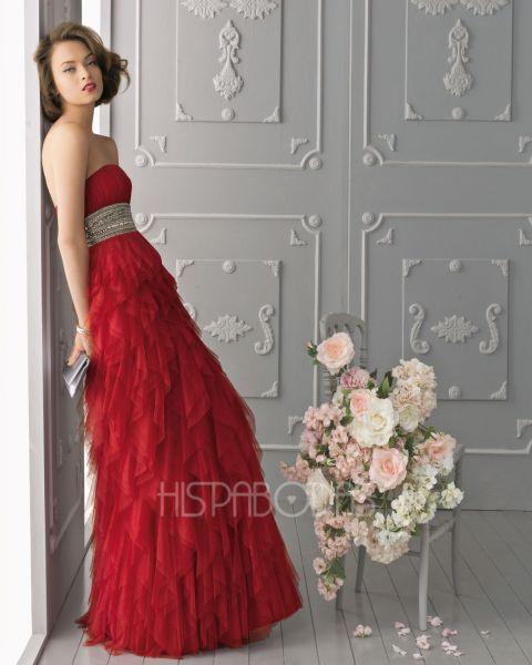 Vestidos de fiesta coleccion aire 2013