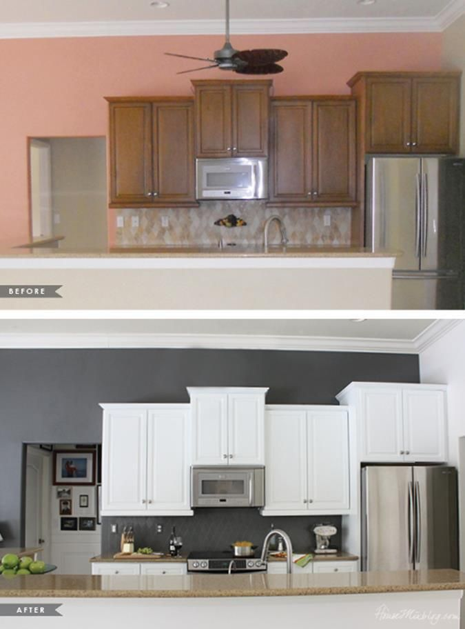 39 perfect painted kitchen cabinets before and after 39 perfect painted kitchen cabinets before on kitchen cabinets painted before and after id=65142
