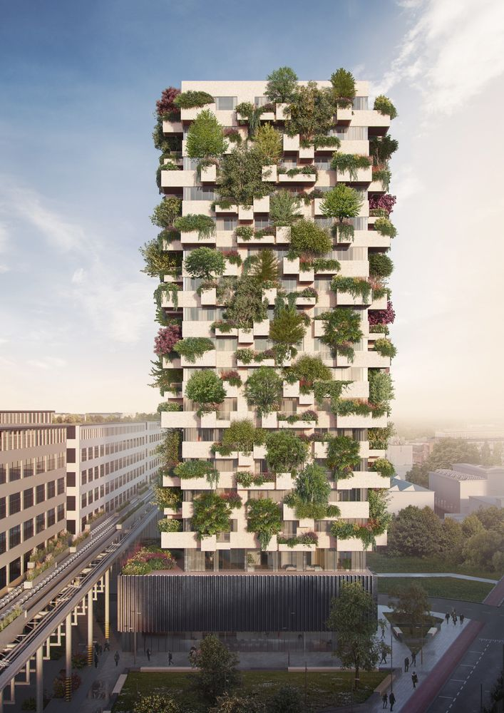 22 Amazing Vertical Garden Ideas For Your Small Yard: Gallery Of Stefano Boeri Architetti's Vertical Forest Is