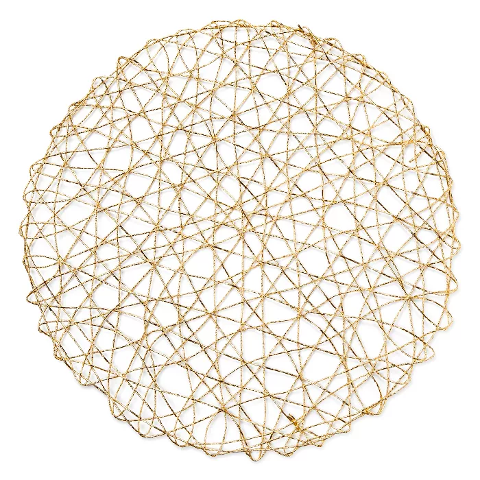 Gold Placemat Room Essentials In 2020 Gold Placemats Room Essentials Placemats