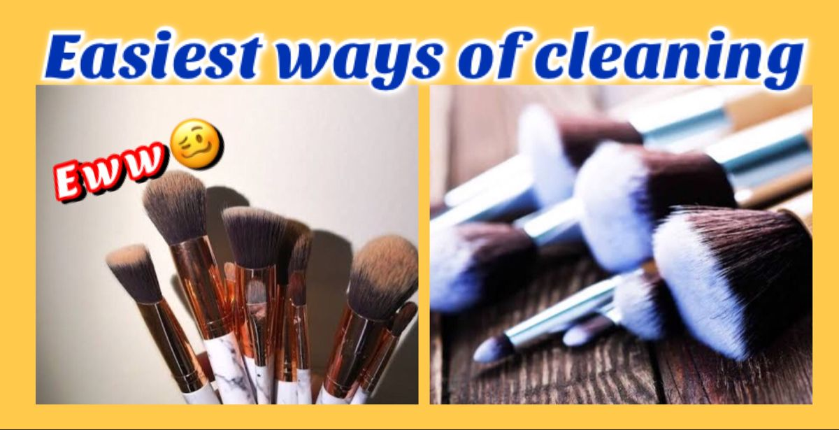 Effective method ..please try #makeupbrushes #cleaningmakeupbrushes #brush #makeuplover
