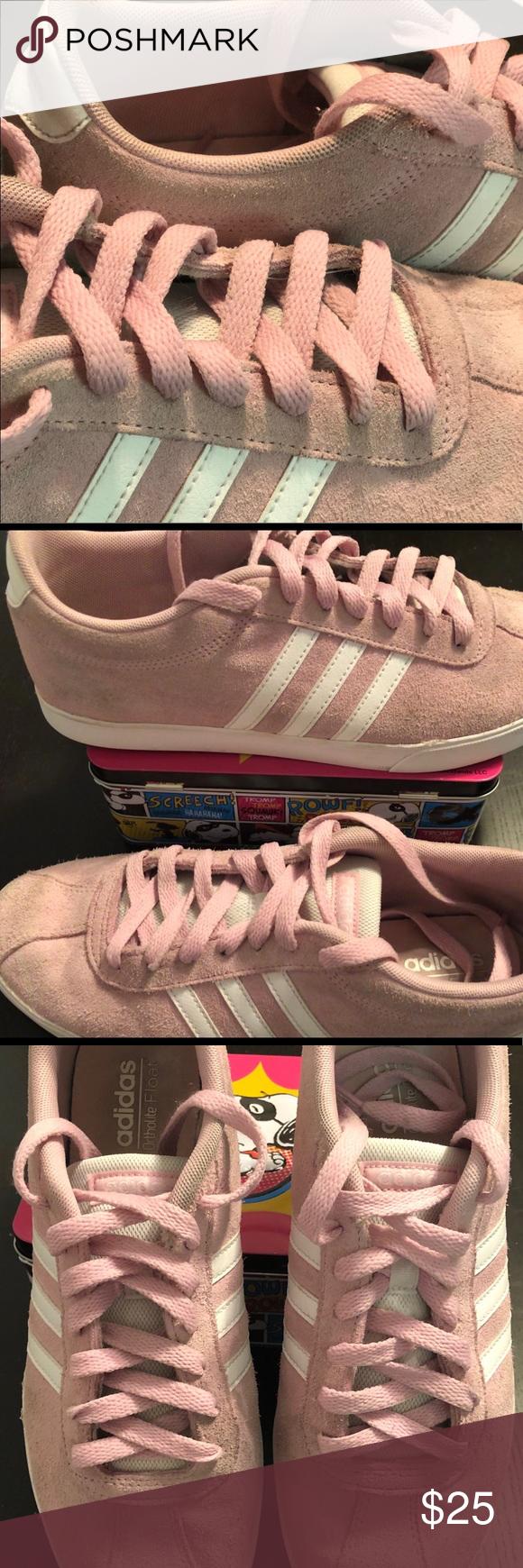 Adidas Courtset Ortholite Float in Pink
