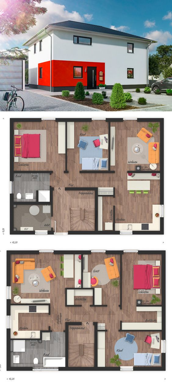 Das Flair 180 Duo Ihr Town & Country Massivhaus