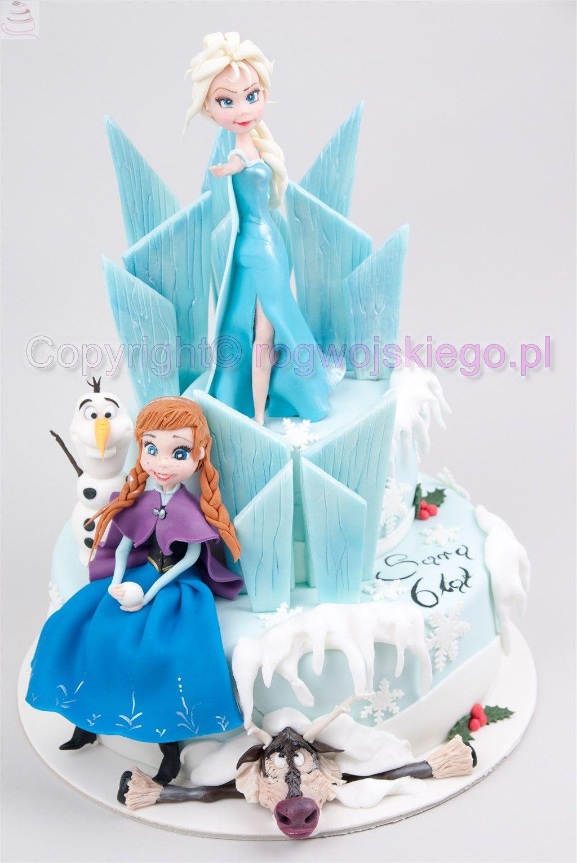 Tort Kraina Lodu Kraina Lodu Frozen Cake Tort Kraina Lodu Torty Dla Dzieci Tort Dla Dziecka Kraina Lodu Http Rogwojski Tort Dla Dzieci Frozen