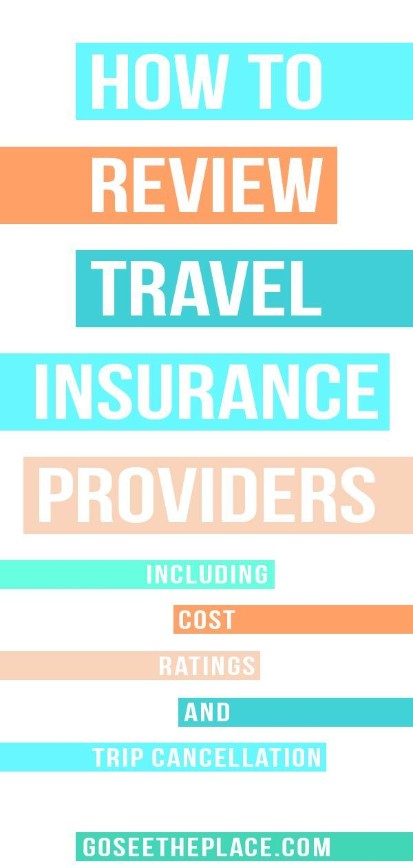 How to Review Travel Insurance Providers (Including Cost ...