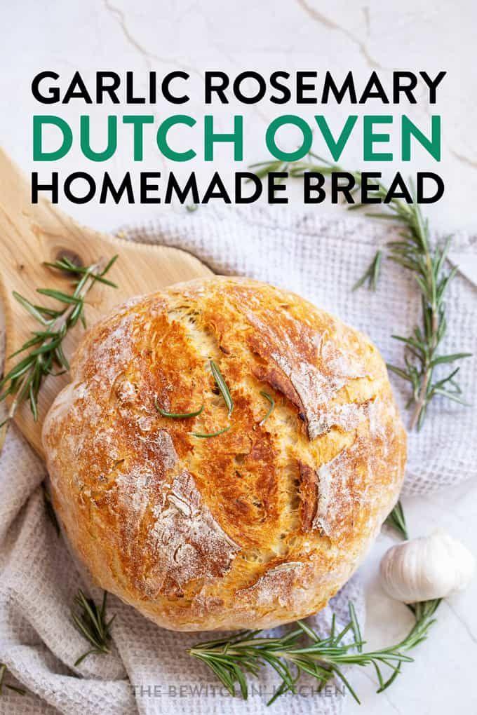 Garlic Rosemary Bread | The Bewitchin' Kitchen