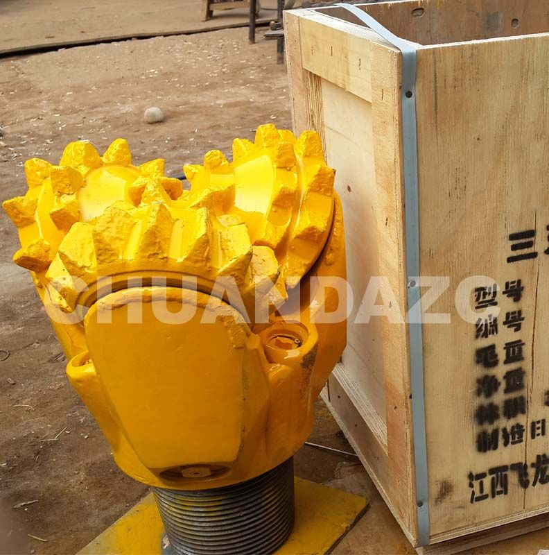 12 1/4 IADC 127 steel tooth tricone bit / tricone drill bit / milled