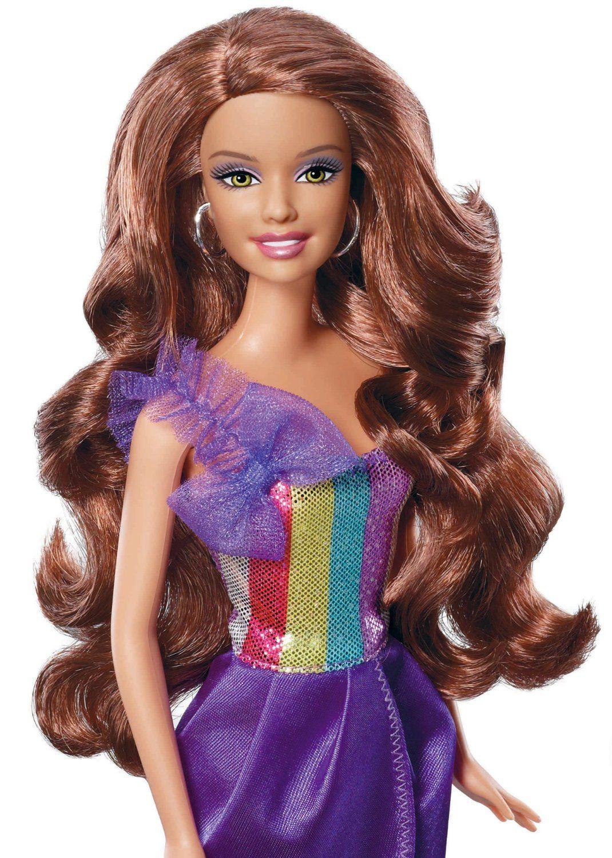 Mattel W3911 Muneca Barbie Morena Corte Y Estilo Amazon Es