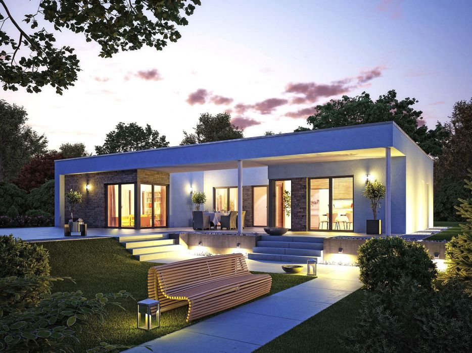 Bonne Modernes Wohndesign : Tolle Cool Moderne Bungalows 2 Cool