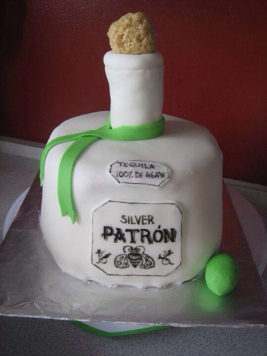 Patron Bottle Cake Liquor Bottle Cake Cupcakes Cookies And Gorgeous Liquor Bottle Cake Decorations