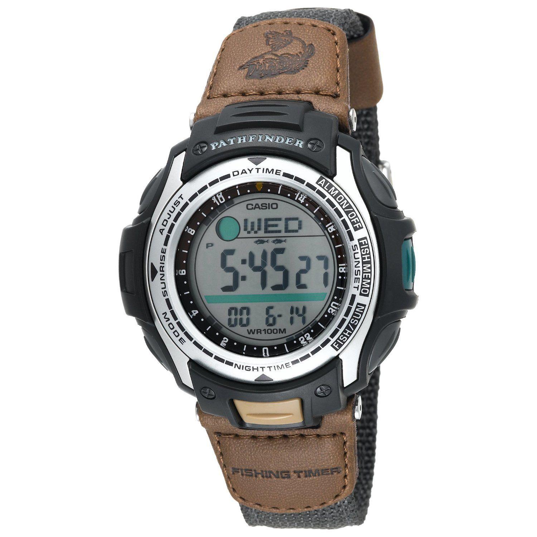 Casio Men\u2019s PAS400B5V Pathfinder Forester Fishing