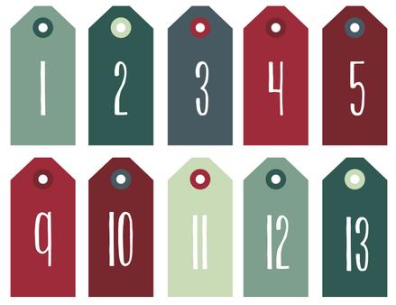 adventskalender nummern trondheim weihnachten advent. Black Bedroom Furniture Sets. Home Design Ideas