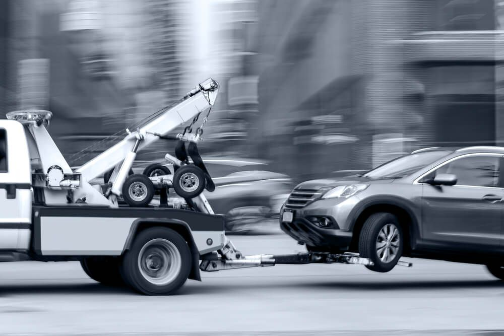 Fast tow trucks waiting to provide any towing service you
