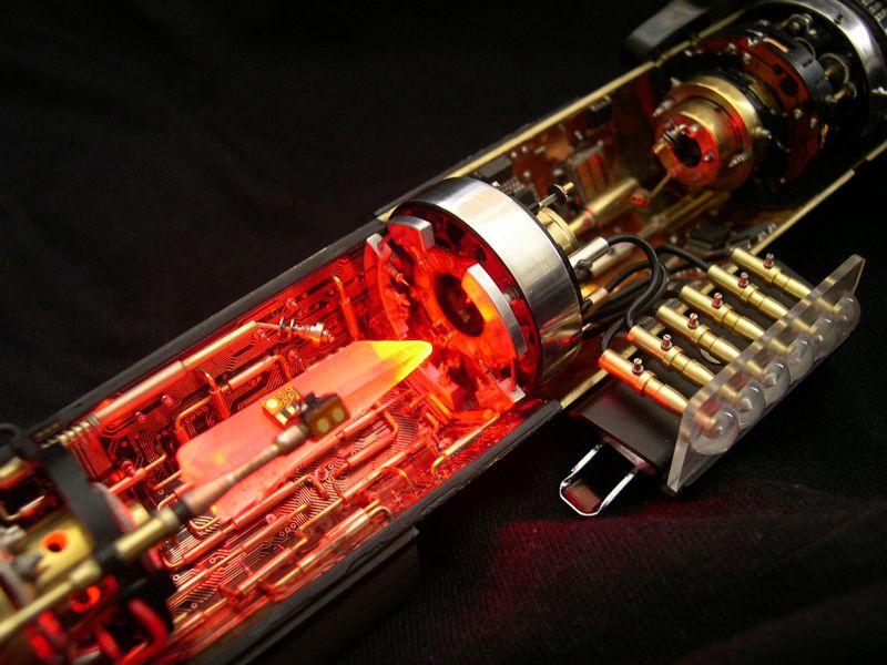 Espada de luz electrónica-Lightsaber Electronics Video link-see how it works!