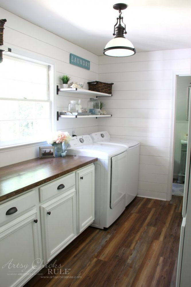 Coastal Farmhouse Laundry (all the details  sources Coastal
