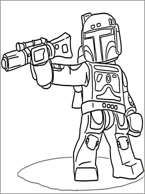 Lego Star Wars Coloring Pages 3 | Coloring pages for kids ...