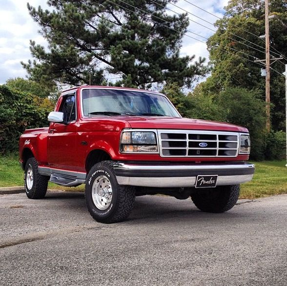 I M In Love 94 Ford F150 Flare Side Xlt Ford Pickup Trucks Pickup Trucks Ford Pickup