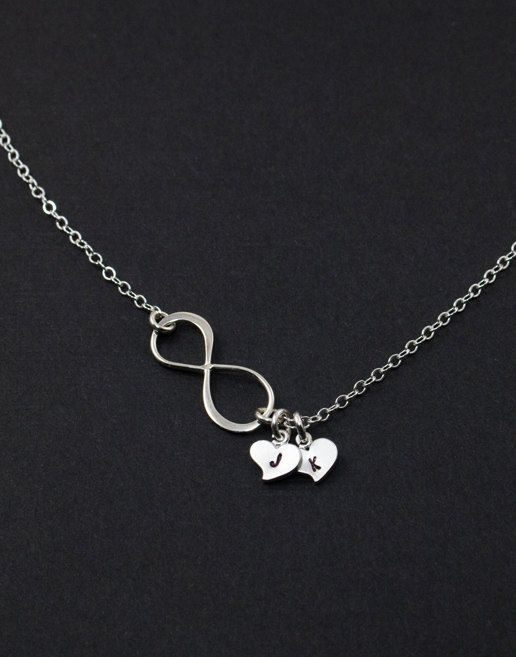 Infinity necklace with initials meaning of forever i want this so infinity necklace with initials meaning of forever i want this so bad aloadofball Gallery