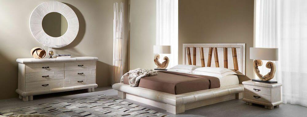 Camera da letto etnica: letti, armadi, comodini... | Negozio ...