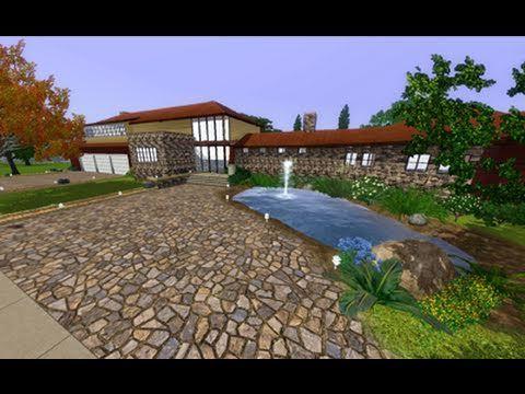 the sims 3 - suburban living | sims 3 | pinterest | house