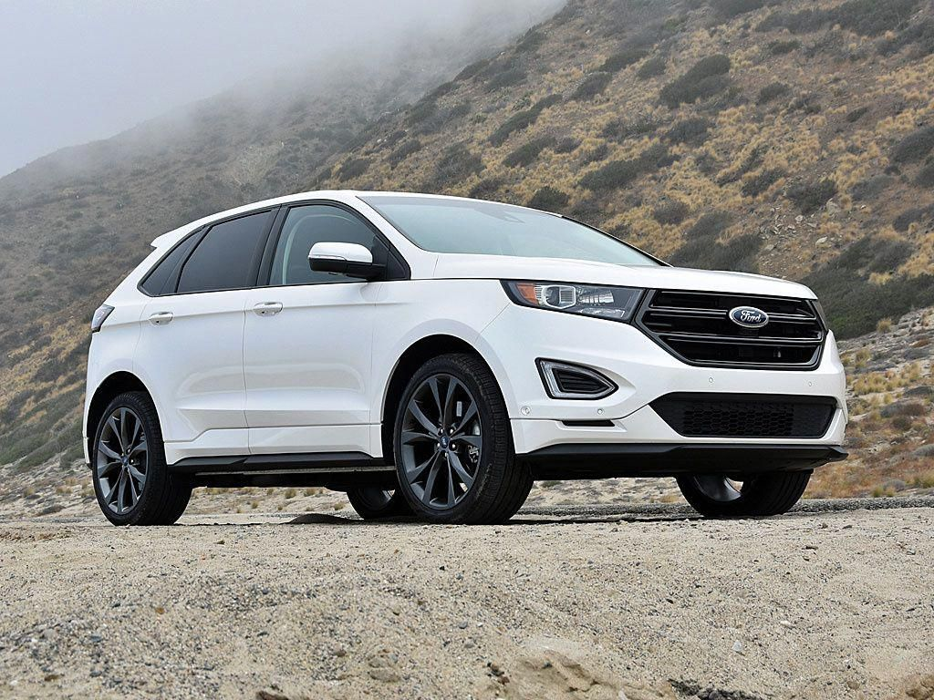 Ford Edge St 2019 New Suv Blue Edge American Cars Ford New