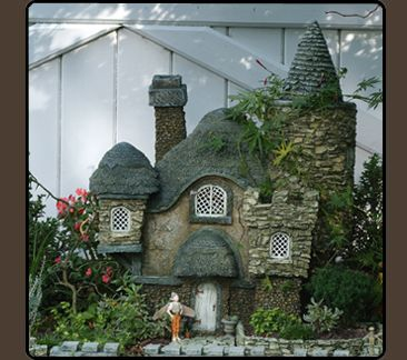 A Little Primrose Cottage Tuck Away Someplace Very Special With Fairy Watching Over It