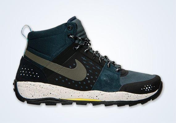 best service adba7 b39cb Nike ACG Alder Mid - Armory Navy - Yellow - SneakerNews.com
