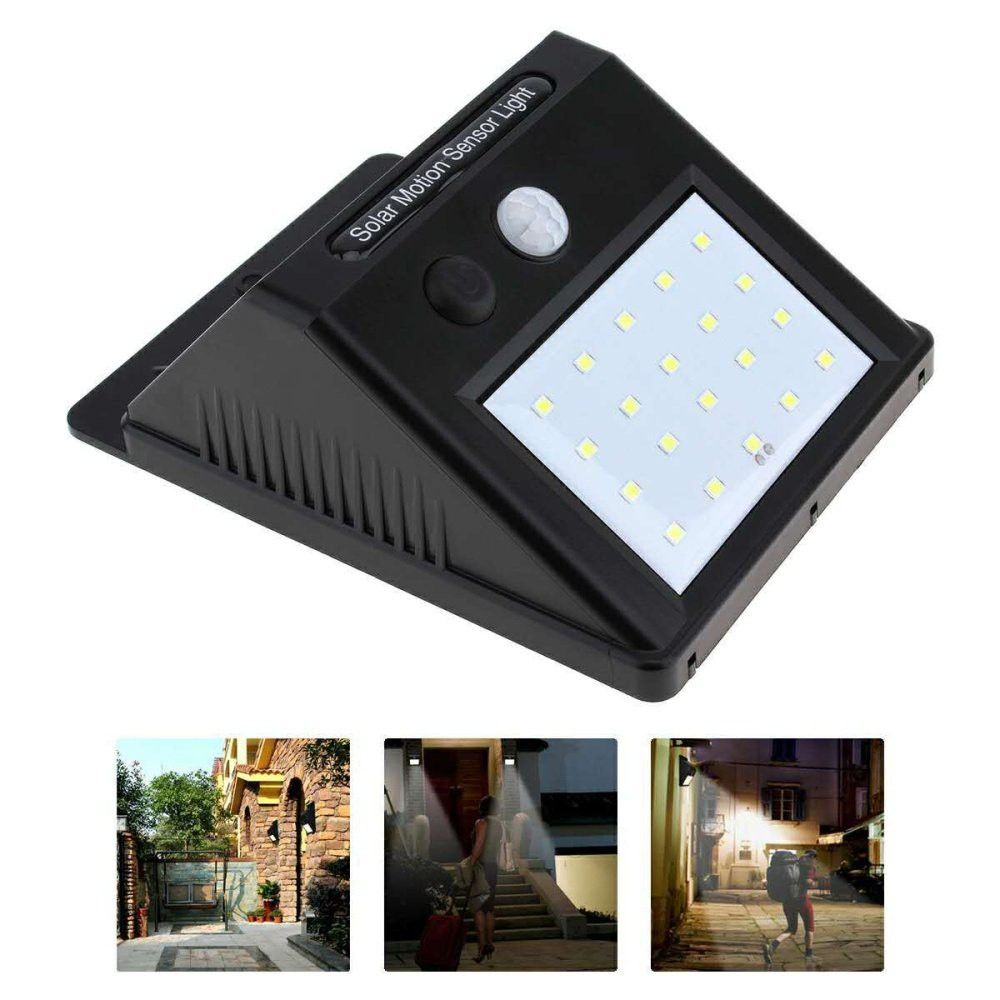 Solar Lights Outdoor Waterproof Solar Powered Motion