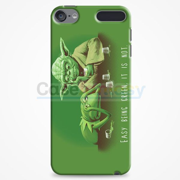 Easy Being Green, It Is Not iPod Touch 6 Case | casefantasy
