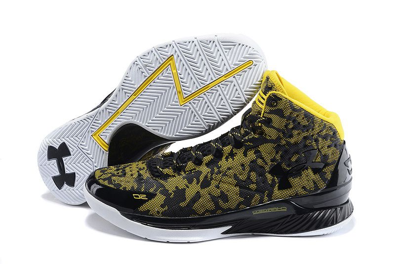 Buy Under Armour Womens UA Curry One 2015 Black Yellow Basketball Shoes Sale  New from Reliable Under Armour Womens UA Curry One 2015 Black Yellow  Basketball ...