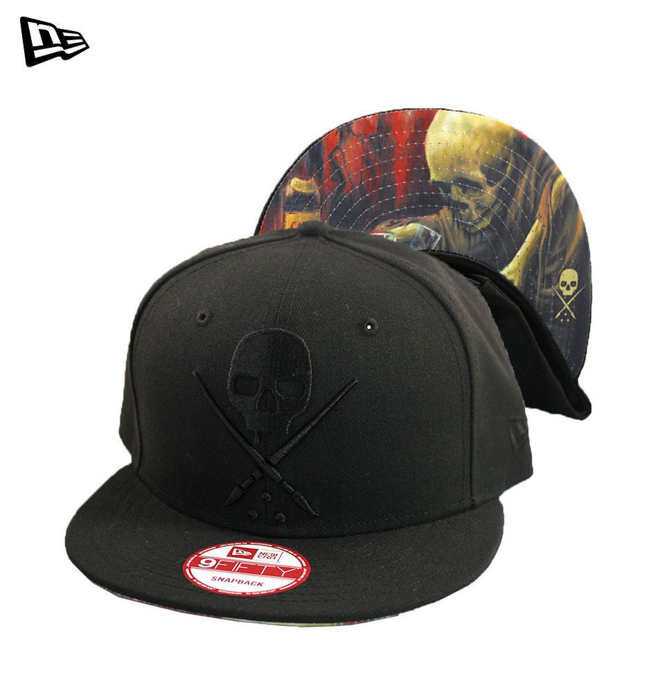 Sullen Art Collective NE Casadores Hat New Era 9Fifty Snapback Custom  Embroidery  Sullen  BaseballCap dca54cd0b06a