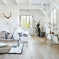 Moderne vloertegels woonkamer voorbeelden | Vloeren | Pinterest ...