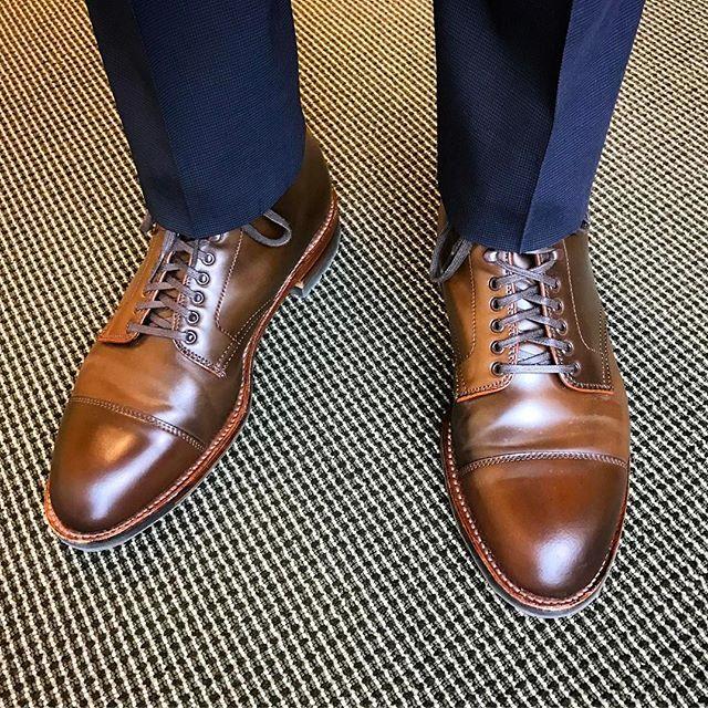 f9511241c10 jso1shoes Alden Ravello Shell Cap Toe Boot  aldenarmy  aldenshoes  horween   shellcordovan  shineyourshoes  dailylast  menswear  オールデン 2017 03 08  01 37  ...