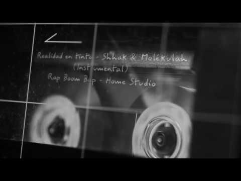 Realidad en tinta - Shhak & Molékulah - Rap Boom Bap Studio (Instrumental)