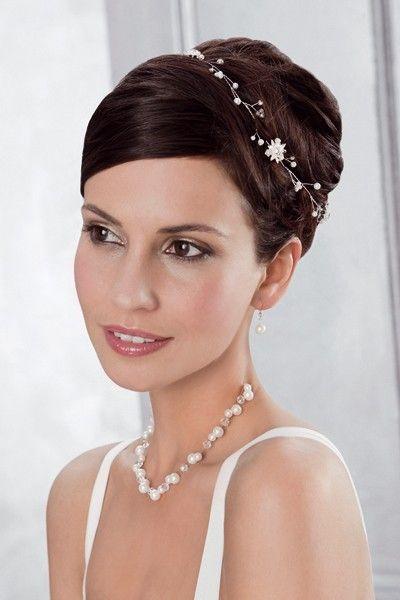 headband mariage ab 20134 headband mariage romantique un accessoire cheveux mariage argent. Black Bedroom Furniture Sets. Home Design Ideas